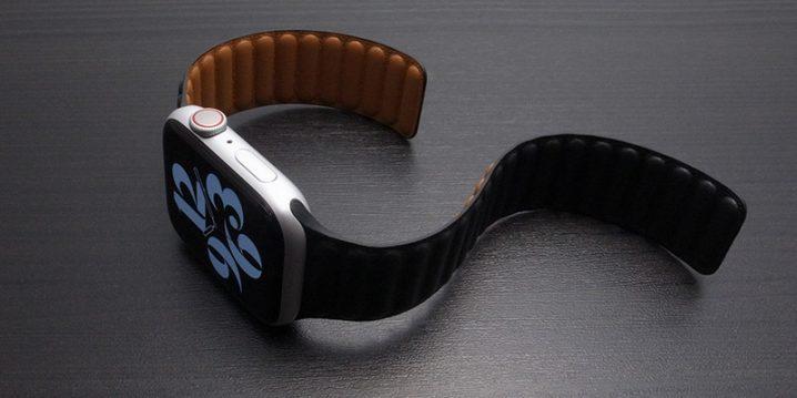 Apple Watch用バンド レザーリンク
