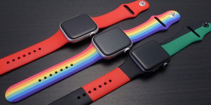 3種類のApple Watchバンド