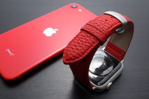 German Shrunken-calf Genuine Leather Watchband