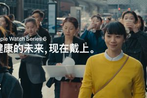 中国のApple Watch Series 6のCM