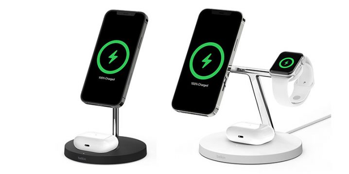 Belkin BOOST↑CHARGE PRO MagSafe充電スタンド