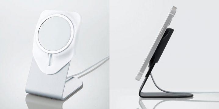 エレコム MagSafe充電器用アルミニウムスタンド
