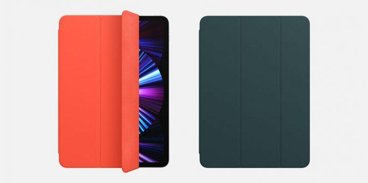 Smart Cover/Smart Folioの新色エレクトリックオレンジとマラードグリーン