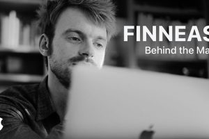 Behind the Mac with FINNEAS