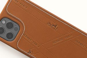 Hermès Bolduc Leather Case with MagSafe for iPhone 12|12 Pro