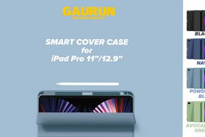 GAURUN iPad Pro用スマートカバーケース