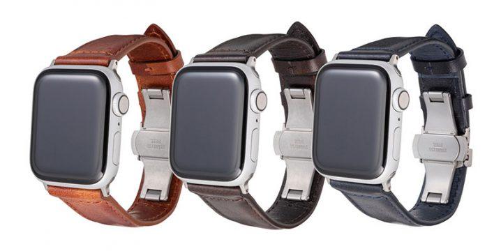 GRAMAS Museum-calf Watchband for Apple Watch