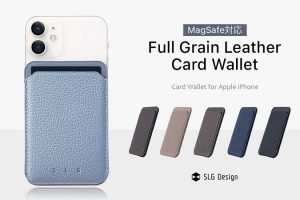 SLG Design MagSafe対応Full Grain Leatherカードケース
