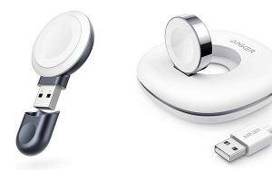 Ankerの小型Apple Watch充電器「Portable Magnetic Charger」「Magnetic Charging Dock」