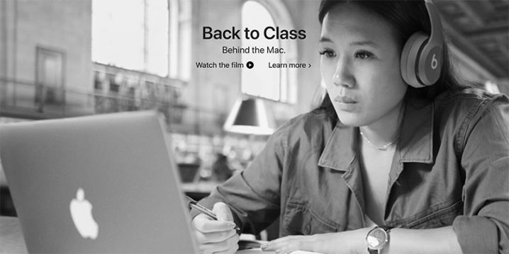 Back to Class. Behind the Mac
