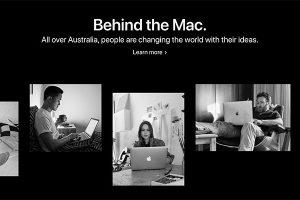 Made in Australia. Behind the Mac.