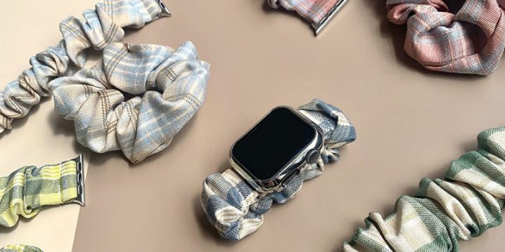 Apple Watch シュシュバンド&シュシュ