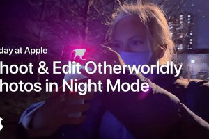 Shoot and Edit Otherworldly Photos in Night Mode