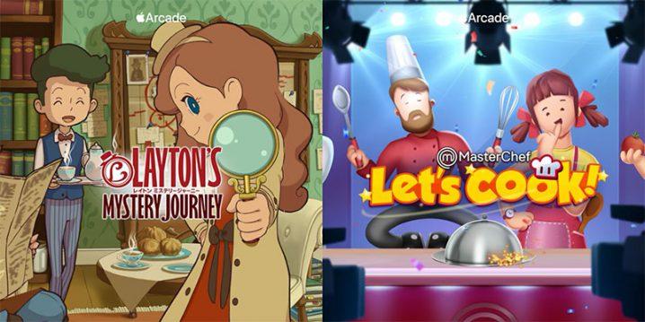 「レイトン ミステリージャーニー+」と「MasterChef: Let's Cook」