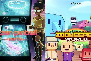 「Zen Pinball Party」と「Zookeeper World」