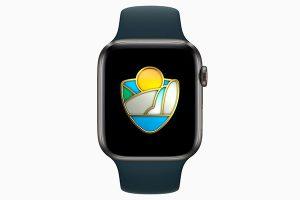 Apple Watch 国立公園チャレンジ 2021