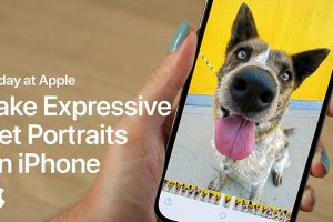 Take Expressive Pet Portraits on iPhone