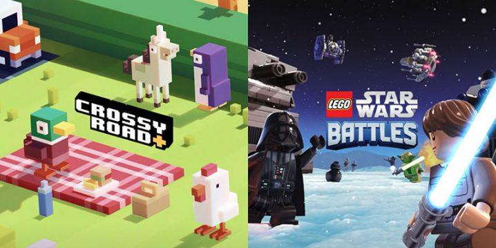 「Crossy Road+」と「LEGO Star Wars Battles」