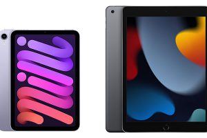 iPad mini(第6世代)とiPad(第9世代)