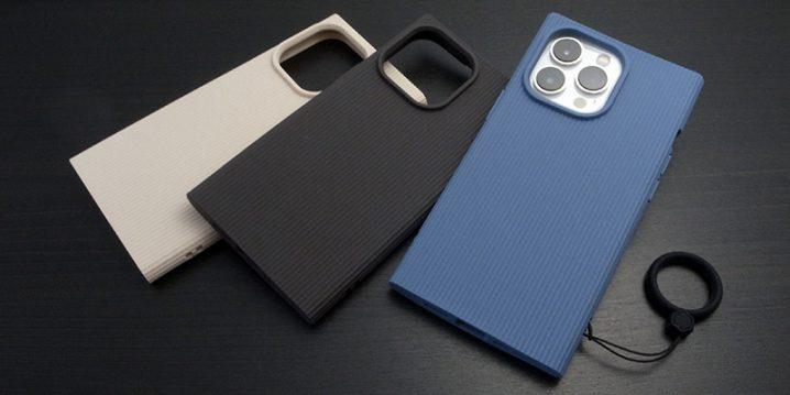 iPhone 13 Pro用ケース クリスタルアーマー CLAY