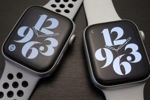 10時9分30秒のApple Watch