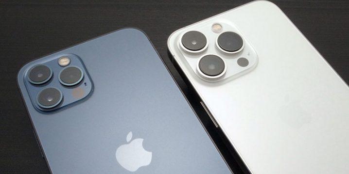 iPhone 12 Proと13 Proのカメラレンズ