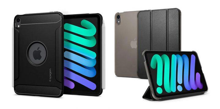 SpigenのiPad mini(第6世代)用ケース2種